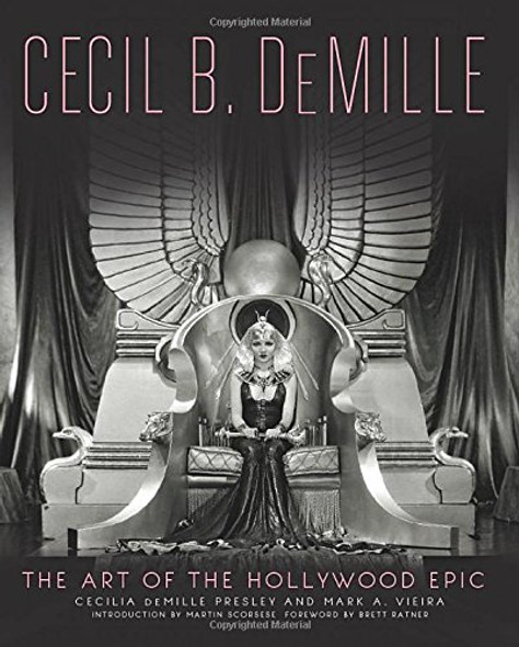 Cecil B. DeMille: The Art of the Hollywood Epic Cover