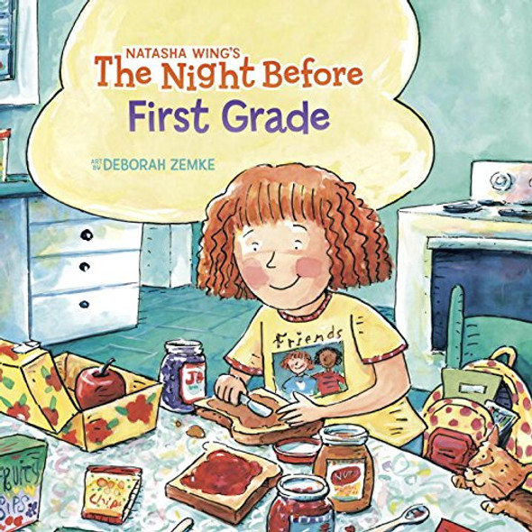 The Night Before First Grade Cover