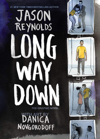 Long Way Down: The Graphic Novel Cover