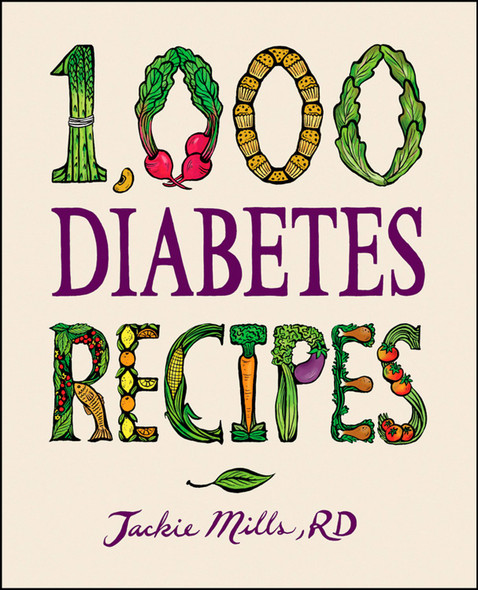 1,000 Diabetes Recipes Cover
