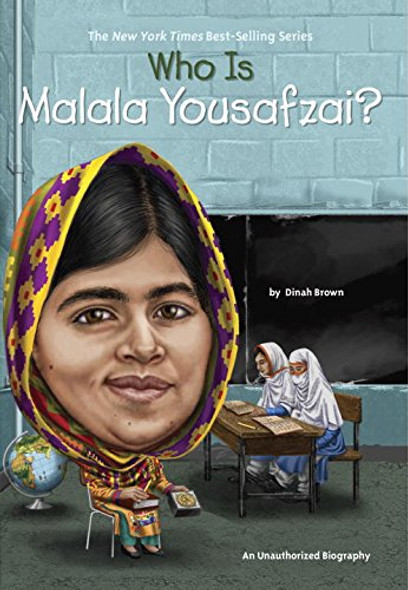 Who Is Malala Yousafzai? Cover