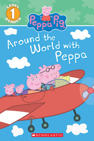 Around the World with Peppa (Peppa Pig) Cover