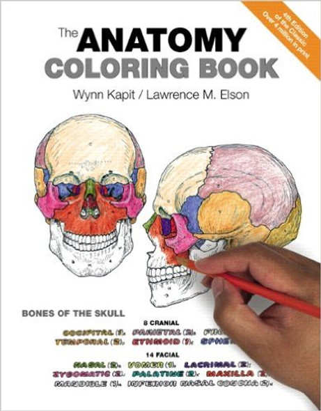 The Anatomy Coloring Book (4TH ed.) Cover