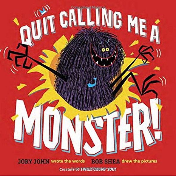 Quit Calling Me a Monster! Cover