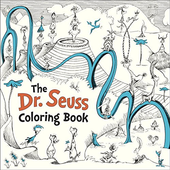 The Dr. Seuss Coloring Book Cover