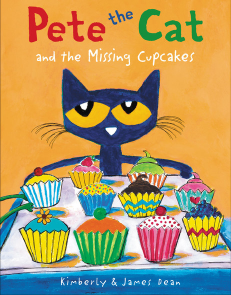 Pete the Cat and the Missing Cupcakes Cover