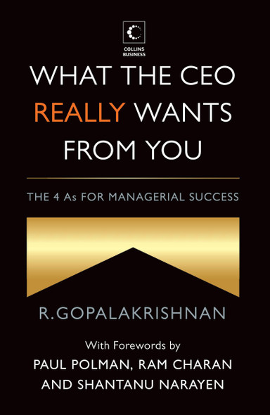 What The Ceo Really Wants From You : The 4As For Managerial Success Cover