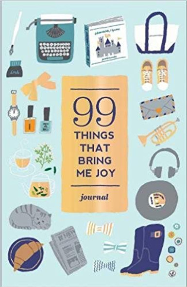99 Things That Bring Me Joy (Guided Journal) Cover
