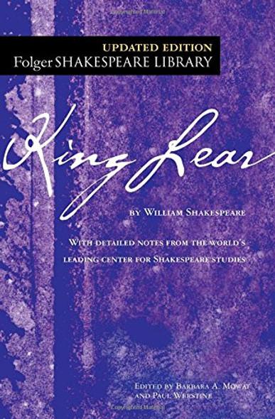 King Lear (Folger Shakespeare Library) Cover