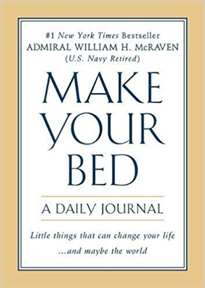 Make Your Bed: A Daily Journal Cover