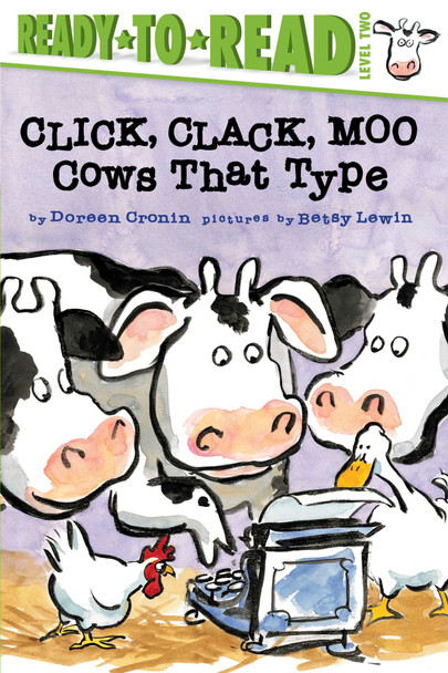 Click, Clack, Moo: Cows That Type (Ready-to-Reads) Cover