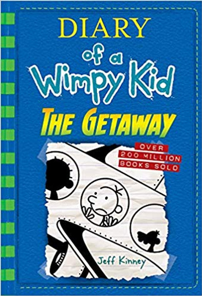 The Getaway (Diary of a Wimpy Kid Book 12) Cover