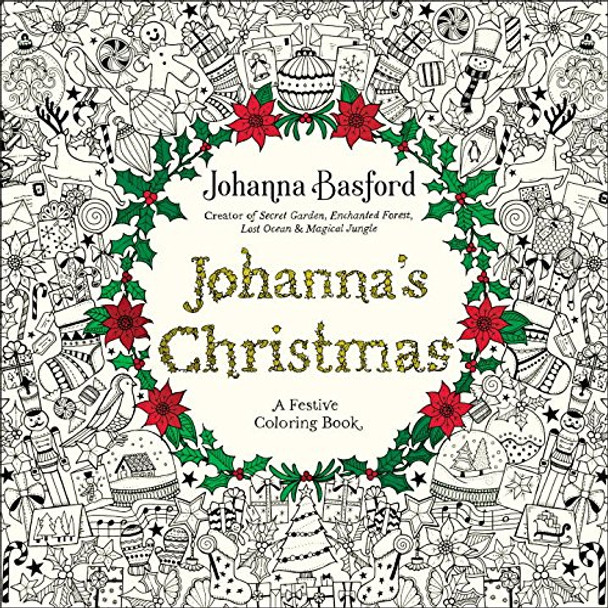 Johanna's Christmas: A Festive Coloring Book for Adults Cover