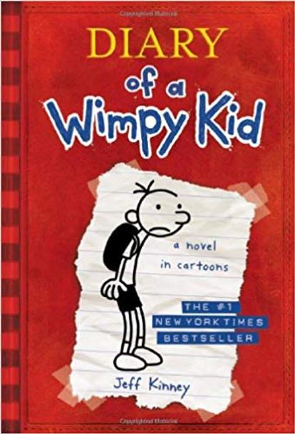 Diary of a Wimpy Kid (Diary of a Wimpy Kid #1) Cover