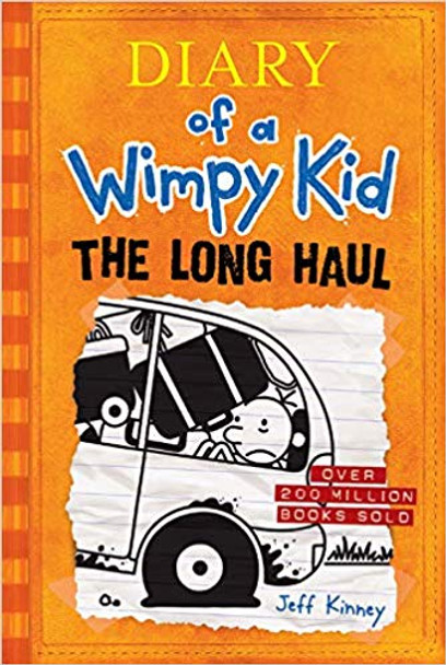 The Long Haul (Diary of a Wimpy Kid #9) Cover