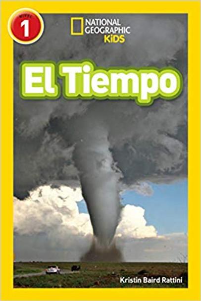 National Geographic Readers: El Tiempo (Spanish Edition) Cover