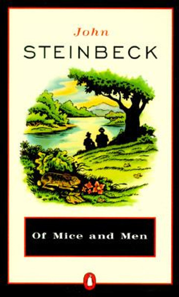 Of Mice And Men (Turtleback School & Library Binding Edition) Cover