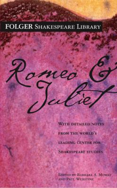 Romeo and Juliet ( Folger Shakespeare Library ) Cover