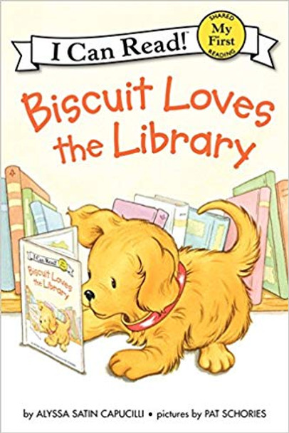 Biscuit Loves the Library (I Can Read Books: My First Shared Reading) Cover