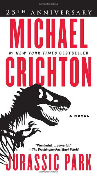 Jurassic Park: A Novel Cover