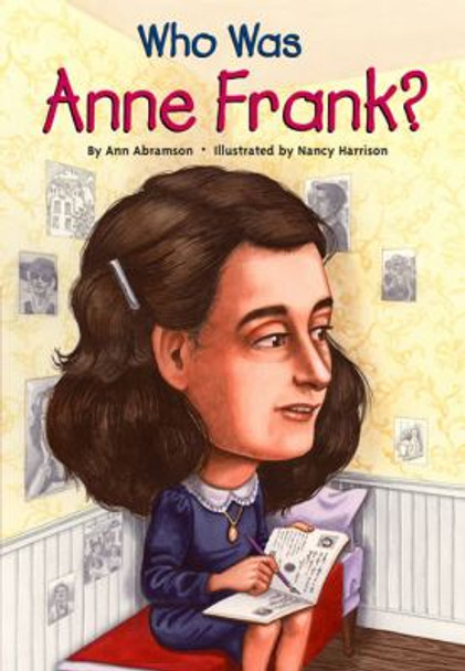 Who Was Anne Frank? Cover
