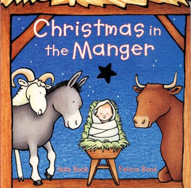 Christmas in the Manger Cover