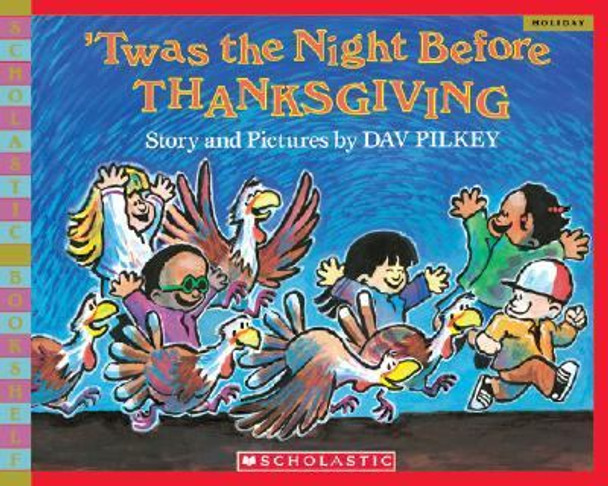 'Twas the Night Before Thanksgiving Cover