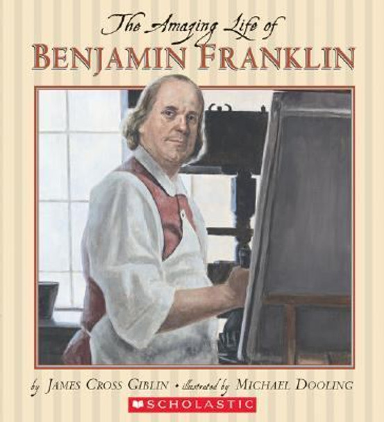 The Amazing Life of Benjamin Franklin Cover