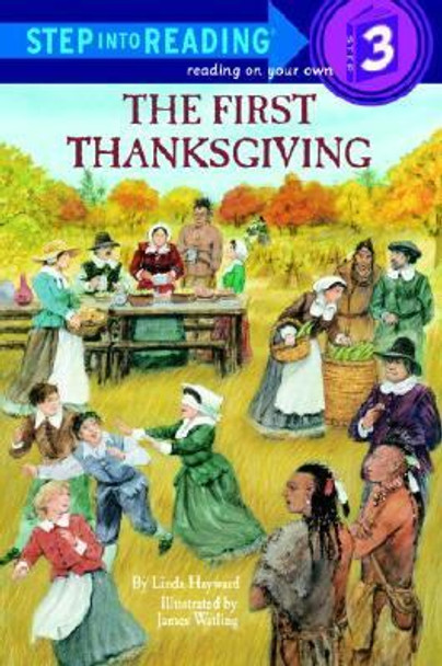 The First Thanksgiving (Step-Into-Reading, Step 3) Cover