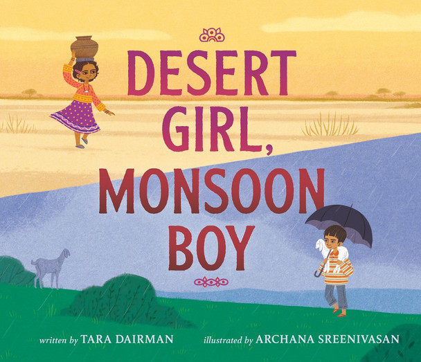 Desert Girl, Monsoon Boy Cover