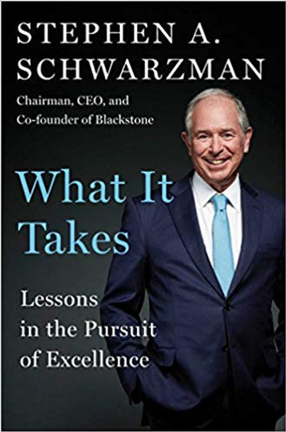 What It Takes: Lessons in the Pursuit of Excellence Cover