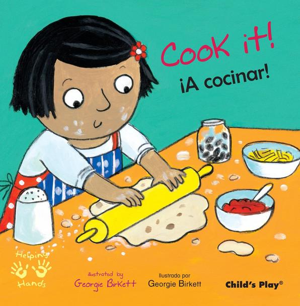 Cook It!/A Cocinar! (Helping Hands (Bilingual)) Cover