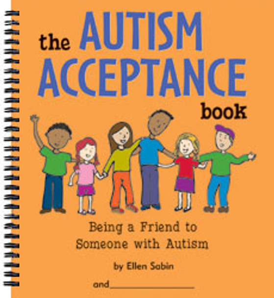 The Autism Acceptance Book: Being a Friend to Someone with Autism Cover