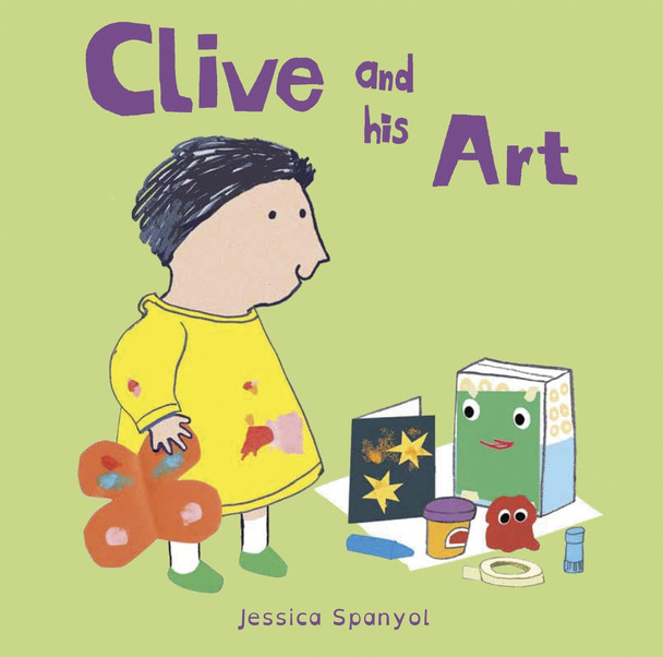 Clive and His Art (All about Clive) Cover