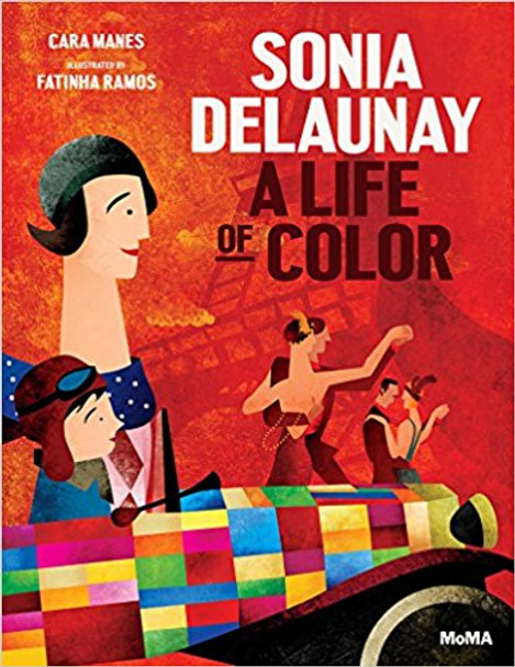 Sonia Delaunay: A Life of Color Cover