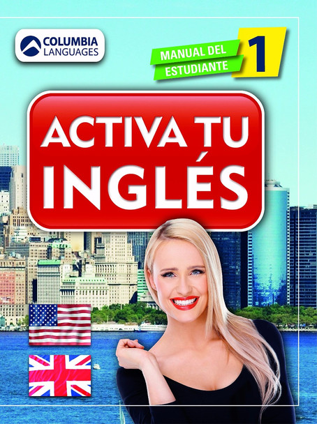 Activa tu ingl'©s I (English and Spanish Edition) Cover