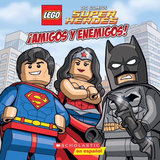 Lego DC Super Heroes: Amigos y Enemigos! Cover