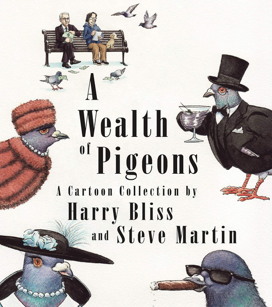A Wealth of Pigeons: A Cartoon Collection Cover