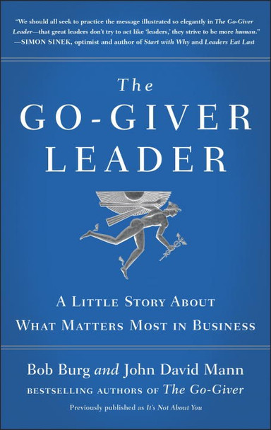 The Go-Giver Leader - Cover