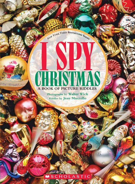 I Spy Christmas: A Book of Picture Riddles (I Spy) Cover