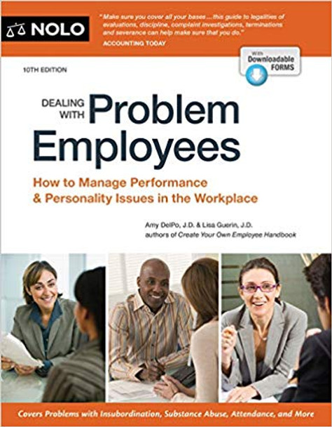 Dealing with Problem Employees: How to Manage Performance & Personal Issues in the Workplace (10TH ed.) Cover