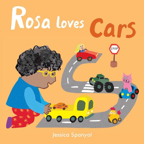 Rosa Loves Cars (Rosa's Toys #4) Cover