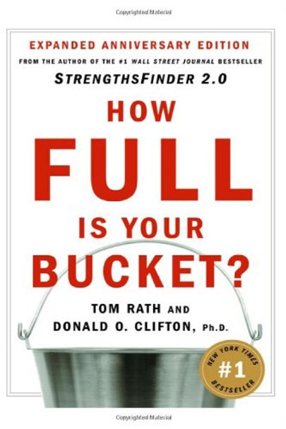 How Full Is Your Bucket? Anniversary Edition Cover