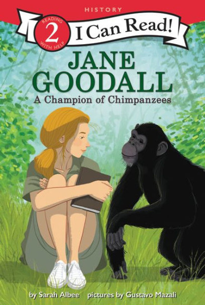 Jane Goodall: A Champion of Chimpanzees (I Can Read Level 2) Cover