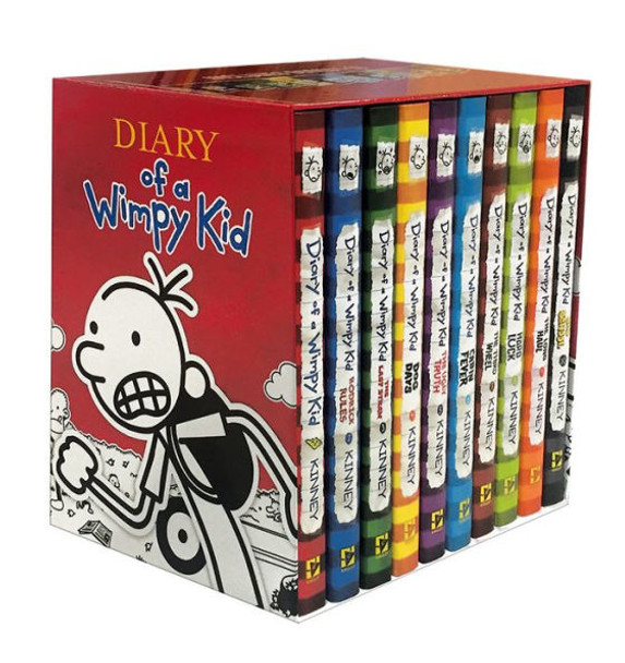 Diary of a Wimpy Kid Box of Books Cover