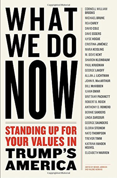 What We Do Now: Standing Up for Your Values in Trump's America Cover