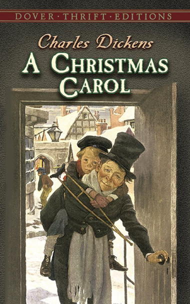 A Christmas Carol (Dover Thrift Edition) [Paperback] Cover
