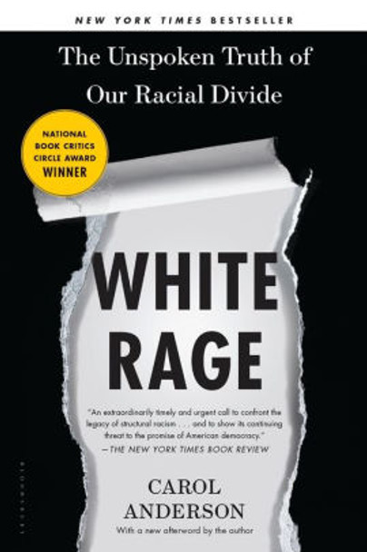 White Rage: The Unspoken Truth of Our Racial Divide [Paperback] Cover