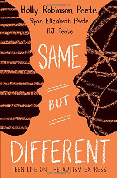 Same But Different: Teen Life on the Autism Express [Paperback] Cover
