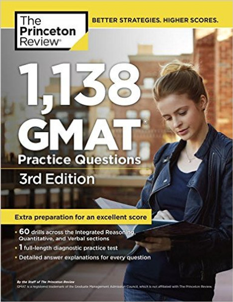 1,138 GMAT Practice Questions Cover